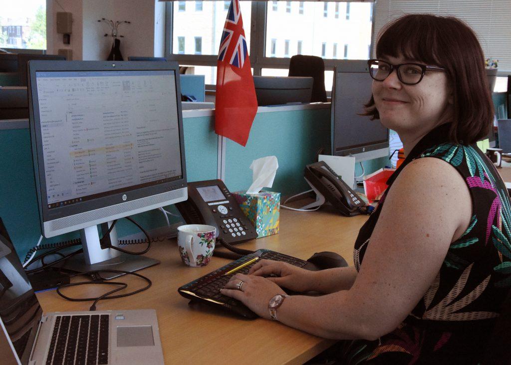 Dr Katrina Kemp, Smart Ships & Automation Policy Officer.